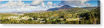Town Of Zeehan Australia Canvas Print by Jorgo Photography - Wall Art Gallery