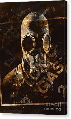 Toxic Gas Chemical Hazard Canvas Print by Jorgo Photography - Wall Art Gallery