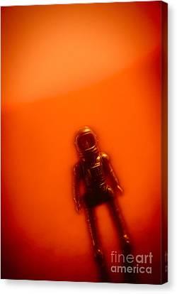 Toy Astronaut #2 Canvas Print