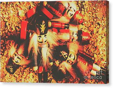 Doll Canvas Print - Toy Workshop Soldiers by Jorgo Photography - Wall Art Gallery