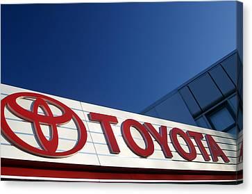 Toyota 8 Canvas Print
