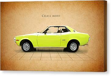 Toyota Celica 1600 St Canvas Print by Mark Rogan