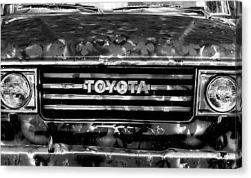 Toyota Truck Canvas Print by Lyle  Huisken