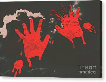 Trace Of A Serial Killer Canvas Print by Jorgo Photography - Wall Art Gallery
