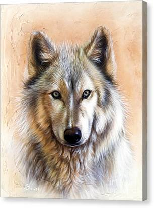 Trace Two Canvas Print by Sandi Baker