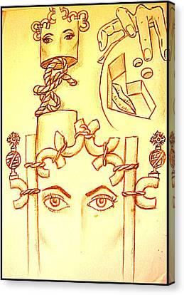 Traces Of Dreams Canvas Print by Paulo Zerbato