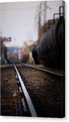 Track Life Canvas Print