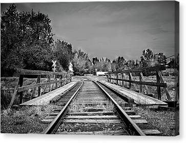 Tracks 2 Canvas Print by Matthew Angelo