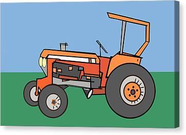 Tractor 2 Canvas Print by Denny Casto