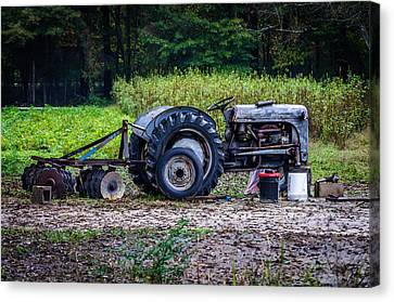 Tractor  Canvas Print by Billy Burdette