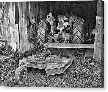 Tractor Canvas Print by Denise Romano