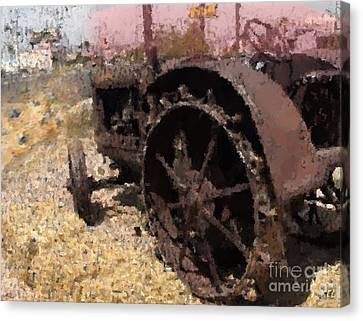 Tractor Canvas Print by Kelly McManus