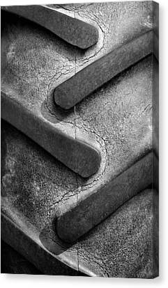 Tractor Tread Canvas Print