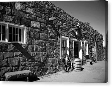 Trading Post Canvas Print by Timothy Johnson