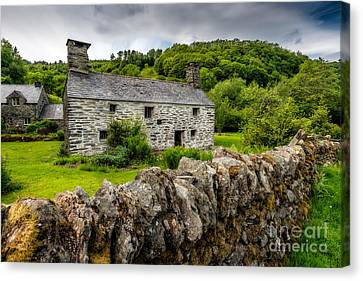 Traditional Farmhouse Canvas Print by Adrian Evans