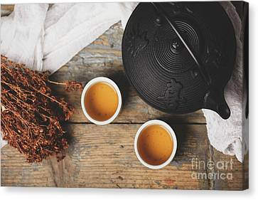 Traditional Japanese Tea Canvas Print