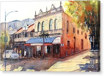 Traditional Music Hall, Brisbane Canvas Print