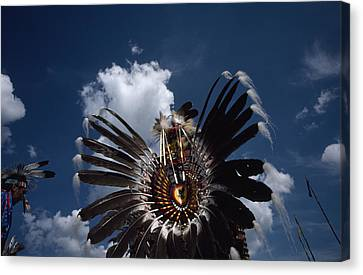 Traditional Native American Dancers Canvas Print by Lynn Johnson