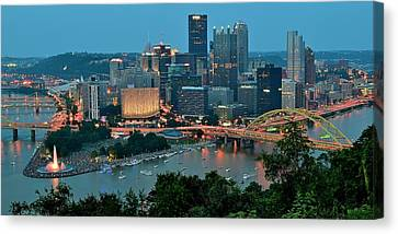 Traditional Panoramic Canvas Print by Frozen in Time Fine Art Photography