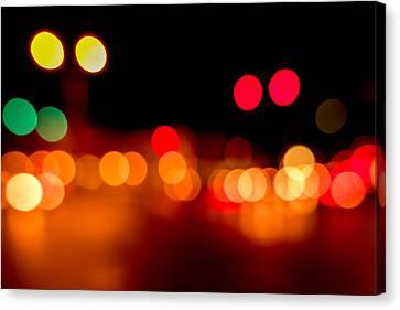Traffic Lights Number 5 Canvas Print