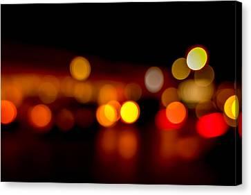 Traffic Lights Number 9 Canvas Print by Steve Gadomski