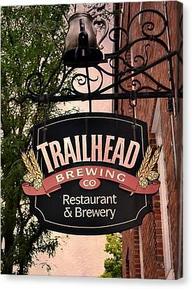 Trailhead Brewing Company Canvas Print