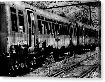 Train Canvas Print