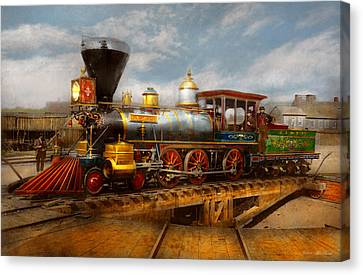 Canvas Print - Train - Civil War - Em Stanton 1864 by Mike Savad