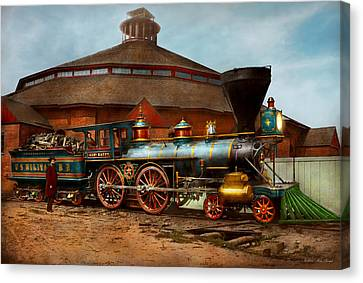 Canvas Print - Train - Civil War - General Haupt 1863 by Mike Savad