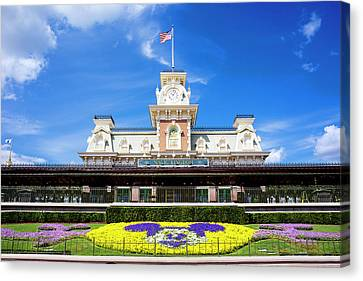 Train Station Canvas Print by Greg Fortier