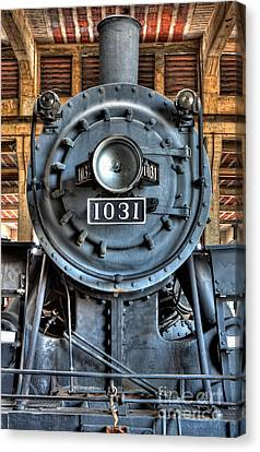 Trains - Steam Locomotive 1031 Canvas Print