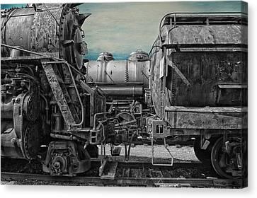Trains Ancient Iron Sc Canvas Print