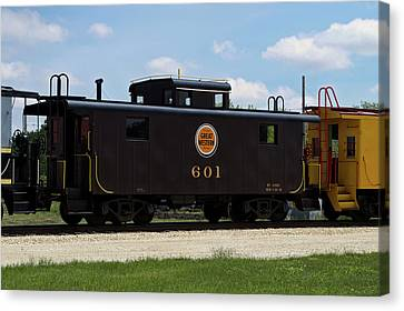 Trains Caboose 601 Great Western Canvas Print