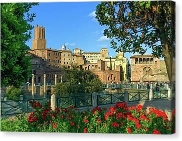 Trajan's Forum, Traiani, Roma, Italy Canvas Print