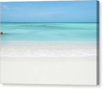 Tranquil Beach Canvas Print by William Andrew