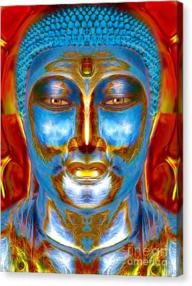Tranquil Buddha Canvas Print by Khalil Houri
