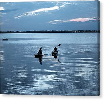 Tranquil Journey Canvas Print by Anthony Baatz