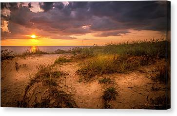 Tranquil Moment Canvas Print by Marvin Spates