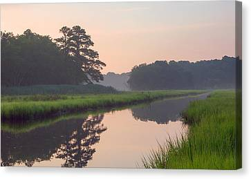 Tranquil Reflections Canvas Print by Allan Levin