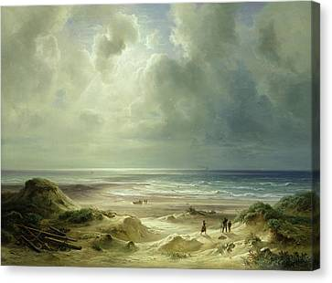 Tranquil Sea Canvas Print by Carl Morgenstern