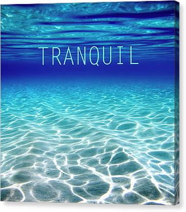 Surrealistic Canvas Print - Tranquil. by Sean Davey