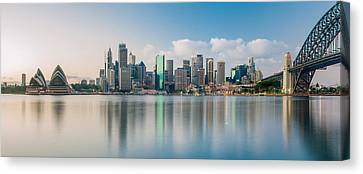 Tranquil Sydney Mornings Canvas Print by Az Jackson