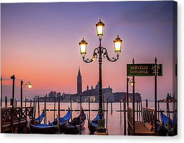 Canvas Print featuring the photograph Tranquil Venice by Andrew Soundarajan