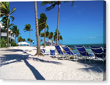 Tranquility Bay Beach Paradise Canvas Print by Randy Aveille