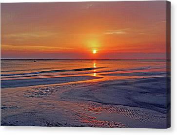 Tranquility - Florida Sunset Canvas Print by HH Photography of Florida