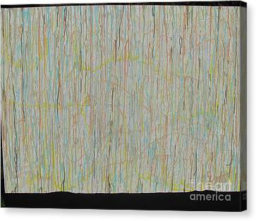 Canvas Print featuring the painting Tranquility by Jacqueline Athmann