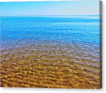 Canvas Print featuring the photograph Tranquility by Kathleen Sartoris