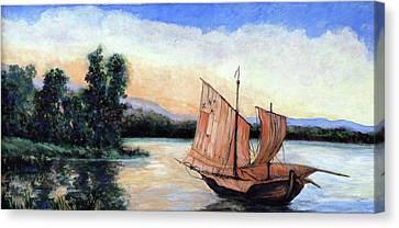 Tranquility Canvas Print by Tom Roderick