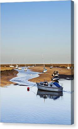 Tranquility - Wells Next The Sea Norfolk Canvas Print