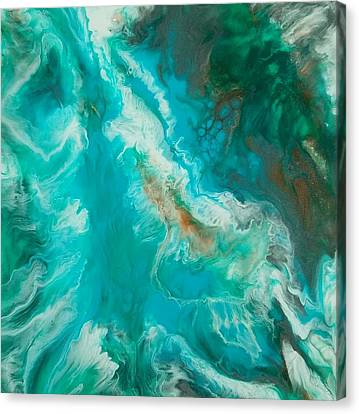 Canvas Print featuring the painting Transcend  by Christie Minalga